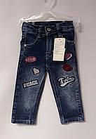 Штаны Для девочек Джинсы 1,5 года Размен 86 Синий F16-124(86) Турция