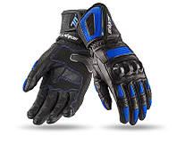 Мотоперчатки SEVENTY SD-R20 SUMMER RACING WOMAN BLACK/BLUE M, фото 1