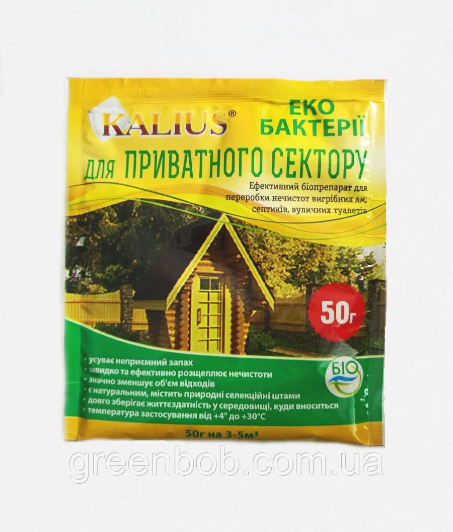 KALIUS для выгребных ям, септиков и уличных таулетов 50 г