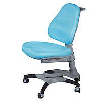 Детское кресло Оксфорд KY-618 Blue Fabric  голубое однотон, фото 1