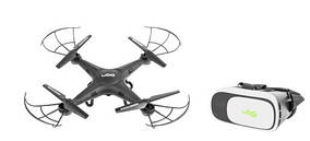 Квадрокоптер дрон UGO Mistral очки VR UGO (3D)