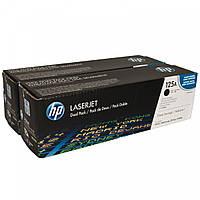 Картридж HP 125A CLJ CP1215/CP1515 Black (2*2200) Двойная упаковка
