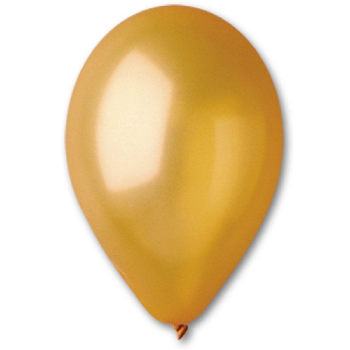 Шары 10′′(GM90/39 золото) 100 шт