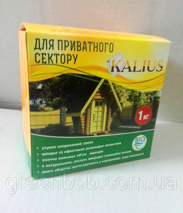 KALIUS для выгребных ям, септиков и уличных таулетов 1000 г