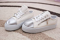 Женские криперы HKR Германия Blanc/Silver 38 - 40