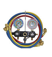Коллектор манометрический 2-х вентильный Mastercool (R-404а, R-22, R-134а, R-407c, )