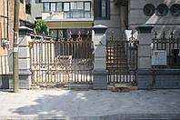 Ворота кованые в Украине
