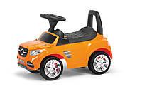 Машинка для катания, толокар МЕРС, оранжевый, MASTERPLAY, МВ2-002Ор.