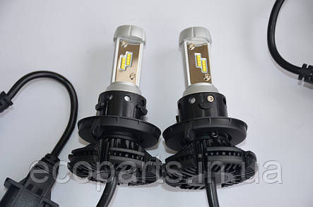 LED лампы в основные фары Nissan Leaf (H13), фото 2