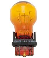 Лампа фонарей габаритных, задних, желтая WAGNER 3157NA