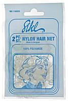 Sibel. Nylon Hair Net Fine. Сетки невидимки для волос с мелкими ячейками, с резинкой.