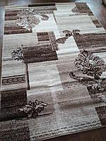 Ковер Капучино коричневых оттенков 1.60х2.30 м.