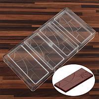 Плитка  с сегментами форма для шоколадных конфет