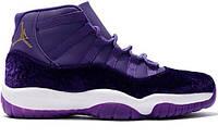 Женские кроссовки Air Jordan 11 Heiress Purple
