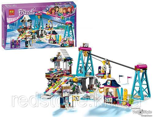 """Конструктор Bela 10732 """"Горнолыжный курорт: подъёмник"""" (LEGO Friends 41324) 591 дет."""