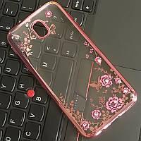 Чехол для Galaxy J5 2017 / Samsung J530 Flowers