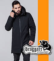 Braggart | Мужская парка демисезонная 6009 черная