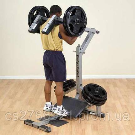 Body-Solid Leverage Squat Calf Machine, фото 2
