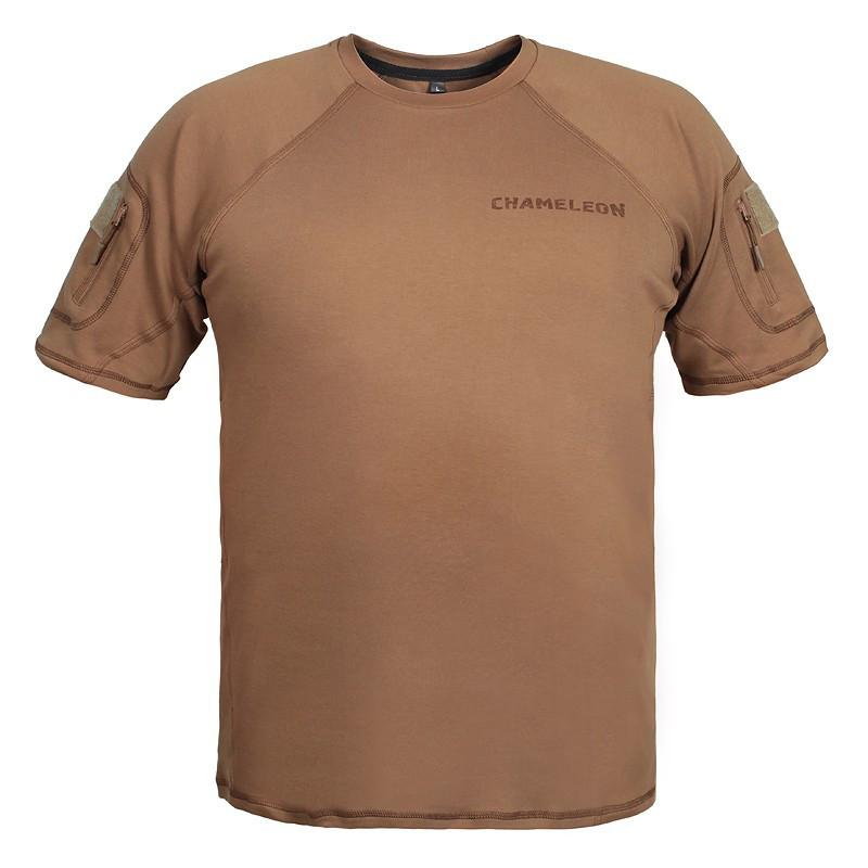 Футболка тактическая coyote brown/ 100% ХБ