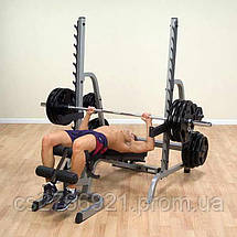 Body-Solid Multi-Press Rack, фото 3