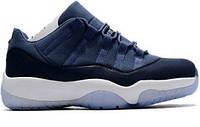 Женские кроссовки Air Jordan 11 Low Blue Moon