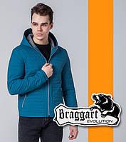 Braggart | Ветровка мужская весенняя 1295 бирюзовая, фото 1