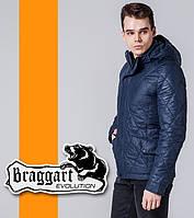 Braggart | Демисезонная мужская куртка 1489 синяя, фото 1