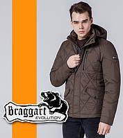 Braggart | Куртка весенне-осенняя мужская 1462 коричневая, фото 1