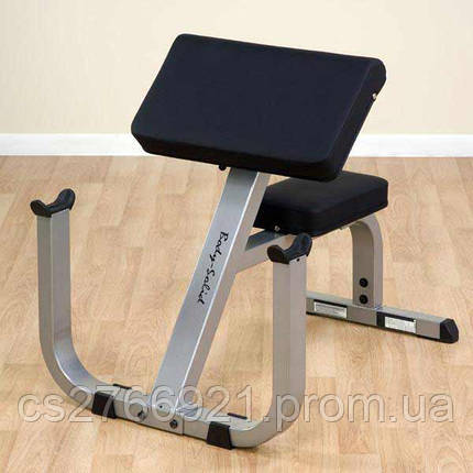 Body-Solid Preacher Curl Bench, фото 2