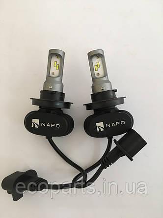 LED лампы в основные фары Nissan Leaf, фото 2