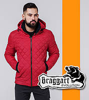 Braggart   Мужская весенняя ветровка 1652 красная, фото 1