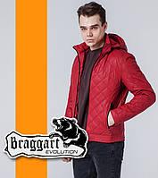 Braggart | Мужская демисезонная ветровка 7034 красная, фото 1