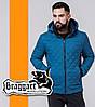 Braggart | Куртка мужская весенняя 1652 бирюзовая