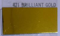 Термопленки Poli-Tape POLI-FLEX BRILLIANT 421 BRILLIANT GOLD ( золото зеркальное флекс )