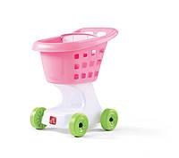 """Детская тележка для игр """"SHOPPING CART"""" розовая"""