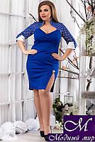 Нарядное женское платье больших размеров (р. 48, 50, 52, 54) арт. 13742