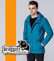 Braggart | Мужская демисезонная ветровка 1342 бирюзовая, фото 1