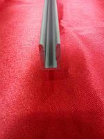 Профиль П-образный торцевой под 4 мм анодированный