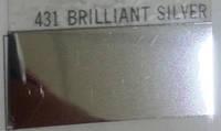 Термопленки Poli-Tape POLI-FLEX BRILLIANT 431 BRILLIANT SILVER ( серебро зеркальное флекс )