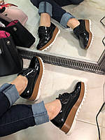 Крутые женские туфли Jil Sander (реплика)