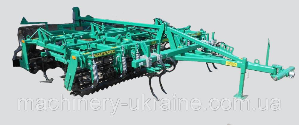Агрегат комбинированный предпосевной полунавесной АКПН-4-01