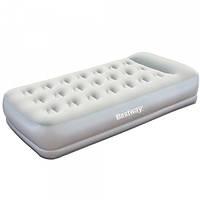 Надувная кровать Bestway 67455, со встроенным электронасосом , 191х97х38 см