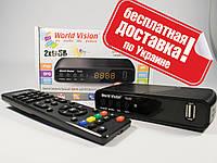 Цифровой T2 тюнер World Vision T62D WiFi+YouTube+IPTV
