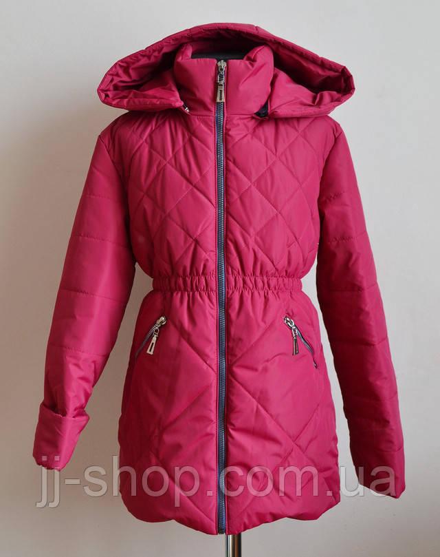 Детская курточка для девочек демисезонная