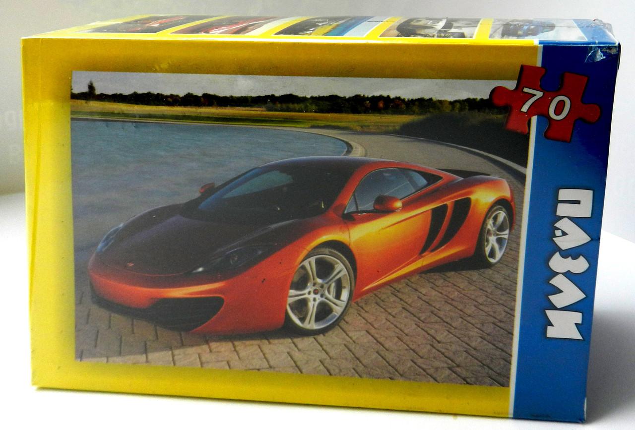Пазли картонні «Автомобіль 1»