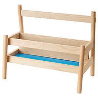 IKEA FLISAT Подставка для книг  (002.907.83)