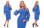Платье женское Екатерина василькового цвета, фото 5