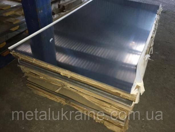 Лист нержавеющий зеркальный 0,8х1250х3020 мм AISI 430