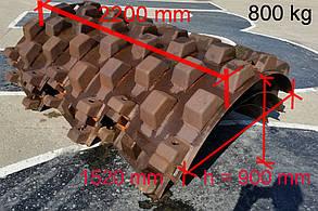 Трамбовочный бандаж для грунтового катка HAMM 3410-3411-3412-3414
