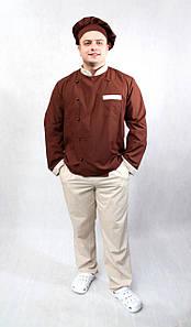 Поварской костюм  унисекс «Шоко»